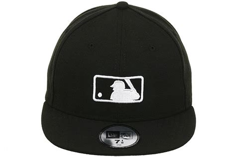 new era major league baseball umpire fitted on field hat