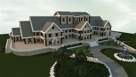 build a mansion luxury mansion minecraft house design