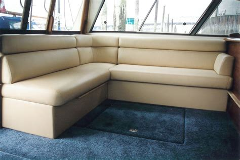 boat seats upholstery interior exterior settee custom boat seating rcb