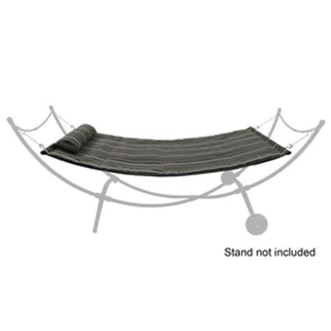replacement hammock bed shop garden treasures fabric hammock at lowes com