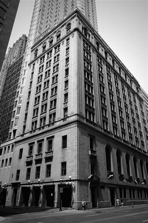 big ol black white building the lazy photographer