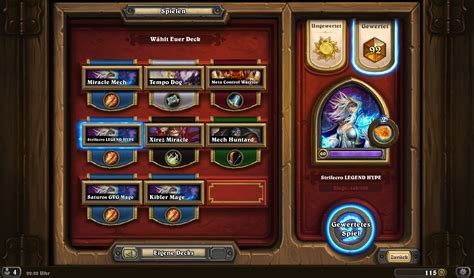 hearthstone legend deck on average how many does it take to reach legend