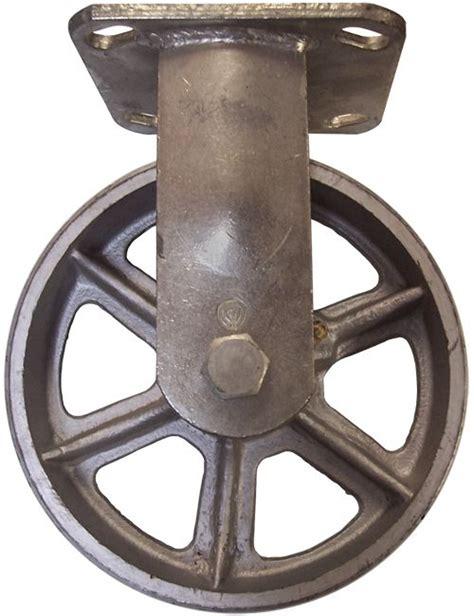 6 quot x 2 quot vintage swivel caster ca6 series rigid steel casters