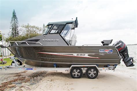 quintrex boat prices qld new quintrex 690 trident power boats boats online for