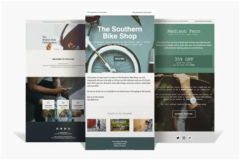 design mailchimp template email templates