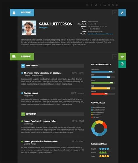 Creative Resume Design by 9 Creative Resume Design Tips With Template Exles