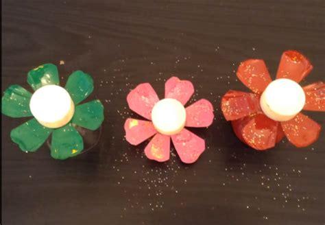 membuat kerajinan acrylic cara membuat kerajinan tangan bunga dari botol plastik