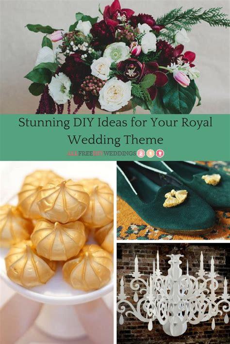 33 stunning diy ideas for your royal wedding theme allfreediyweddings