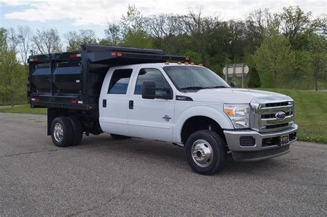 Used Ford F350 by Ford F350 Dump Truck Vehicles For Sale Autos Post
