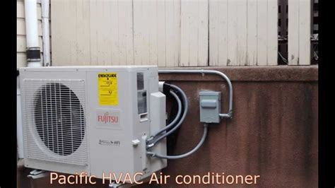 Ac Fujitsu fujitsu ductless air conditioning installation multi