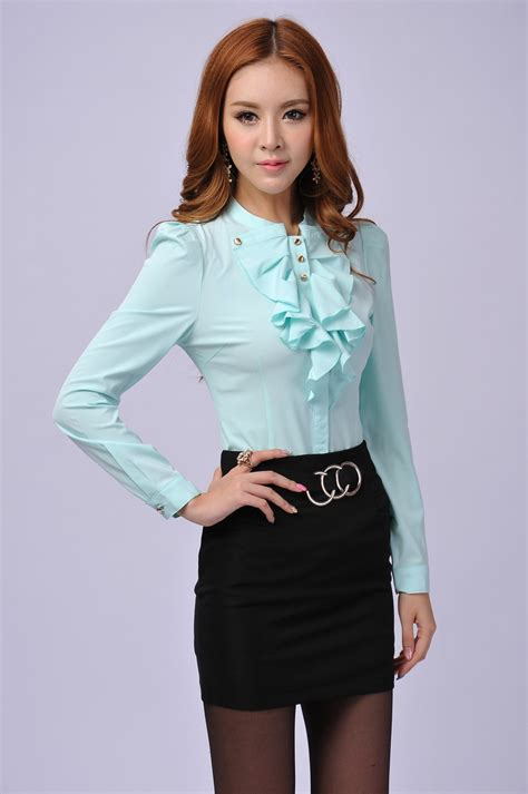 New Blouse Style8 womens business blouses blouse styles
