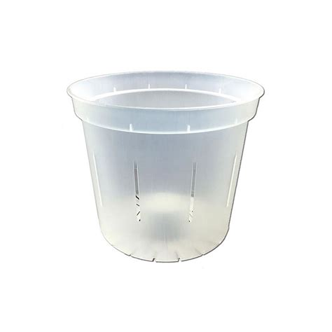 Clear Planter Pots by Slotted Clear Planter 3 Quot