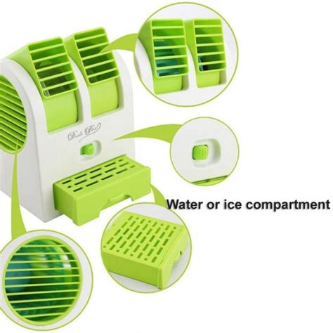 fan and air conditioner mini air cooler fan air conditioner with water and