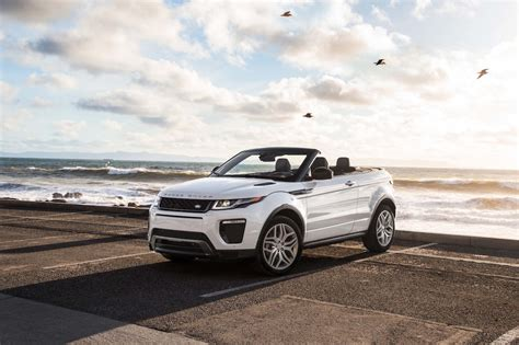 evoque land rover convertible 2017 range rover evoque convertible first test motor trend