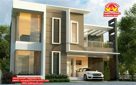 box type home design news contemporary kerala model home plans