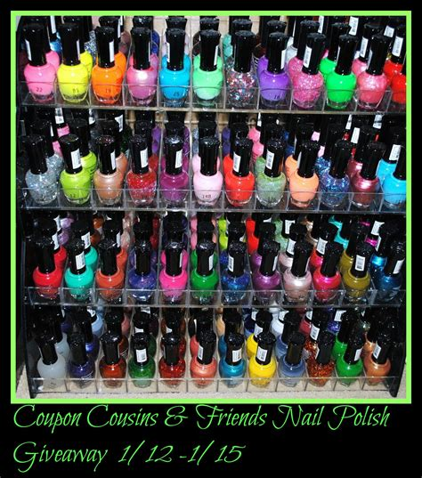Nail Polish Giveaway - 48 piece rainbow colors glitter nail polish lacquer set 3 scented nail polish