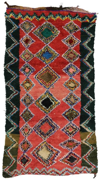 boho rugs for sale boho chic vintage berber moroccan rug with modern tribal design for sale at 1stdibs