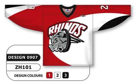 design your hockey jersey online sublimated hockey jersey rhinos series custom made or blank