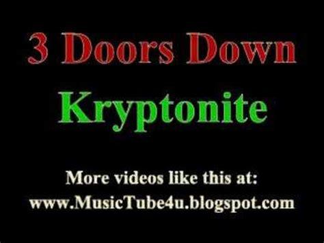 3 doors kryptonite lyrics