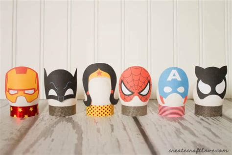 decorar huevos kinder diy superhero easter eggs