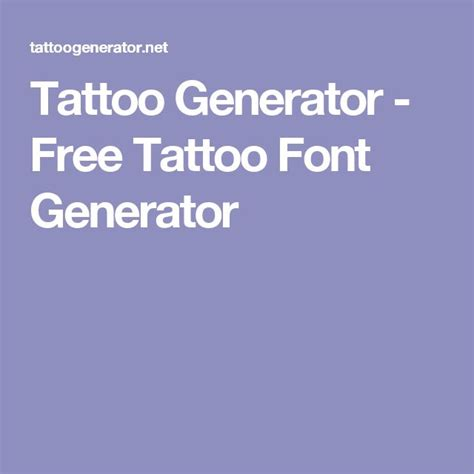 free tattoo font generator best 25 font generator ideas on font