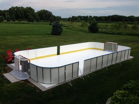 Diy Backyard Rink by Backyard Rink Kit Outdoor Furniture Design And Ideas