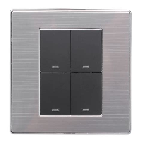 4 panel light switch buy led wall switch panel light switch four switch double