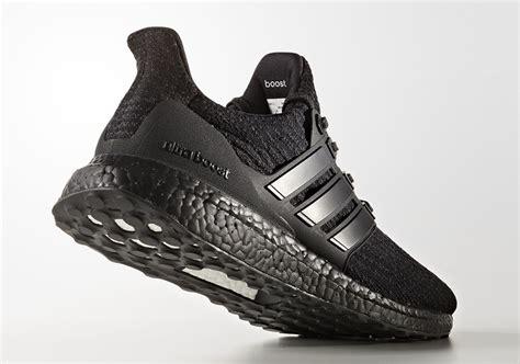 Adidas Ultra Boost 20 Tripple Black adidas ultra boost 3 0 black matte heel cg3038