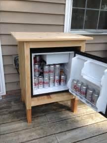 patio refrigerator fridge turned outdoor refrigerator for the home