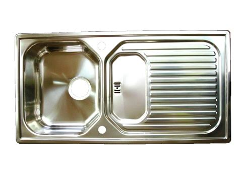 caravan kitchen sinks leisure aqualine sink stainless steel waste caravan