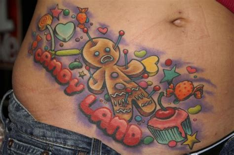 candyland tattoo kawaii tattoos