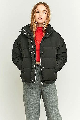 light before puffer jacket light before cropped puffer jacket outfitters