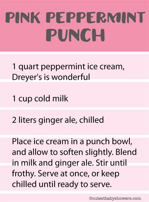 Pink Baby Shower Punch Recipes by 17 Best Baby Shower Punch Recipes Blue Pink Punch Ideas