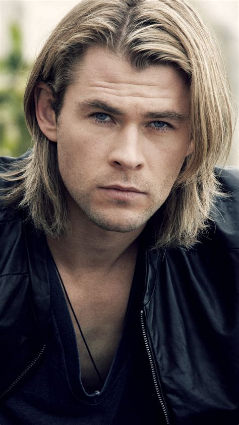 boy actor with long hair awesome chris hemsworth photos full hd pictures