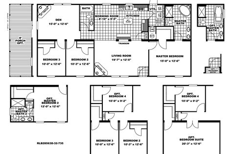 manufactured home floor plan 2009 clayton vista