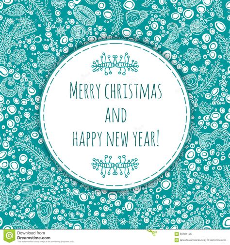 Christmas Ornament Collection - beautiful and gentle greeting happy new year and merry christmas christmas card new year