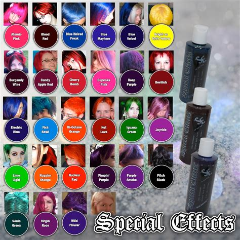 colorists special effects special effects semi permanent vegan hair dye color 4 oz punk rock w free brush ebay