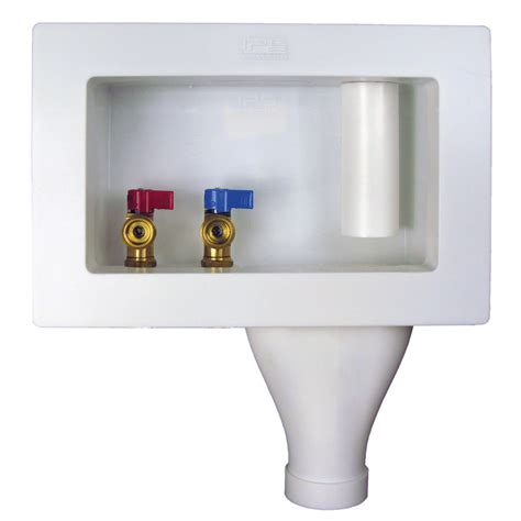 Plumbing Outlet Box by Shop Quarter Turn Valve Pex Washing Machine Outlet
