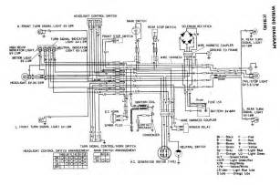 wiring diagram of honda cb 100 motorcycle circuit wiring diagrams