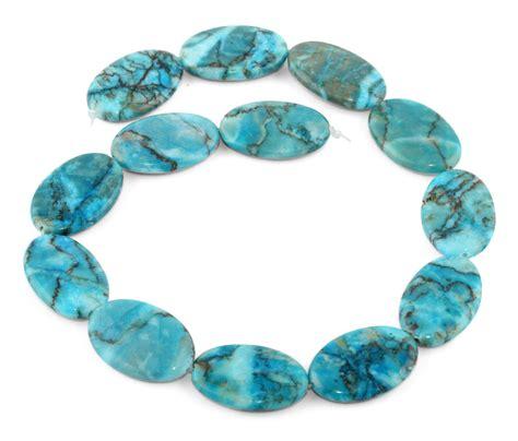 20x30mm turquoise oval gemstone