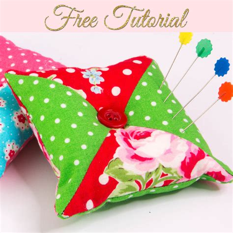 Patchwork Pincushions To Make - how to make a pincushion patchwork pin cushion treasurie