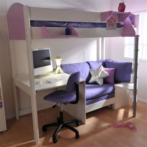 Bunk Bed With Sofa And Desk Loft Bed With Desk And Bedroom Ideas Pinterest Lofts Desks And Bedrooms