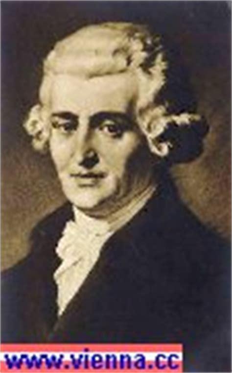 Tabellarischer Lebenslauf Joseph Haydn Musik In Wien Joseph Haydn Biografie Lebenslauf