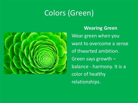 green color meaning colors meaning