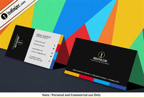 Marketing Business Cards Templates by Indiater Free Creative Marketing Business Card Psd