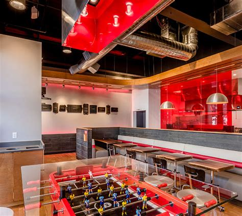 Fast Casual Kitchen Layout by Fast Casual Restaurant Interior Design Elsy Studios