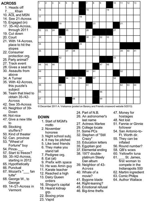 printable crossword puzzle sports sports tribute crossword puzzle