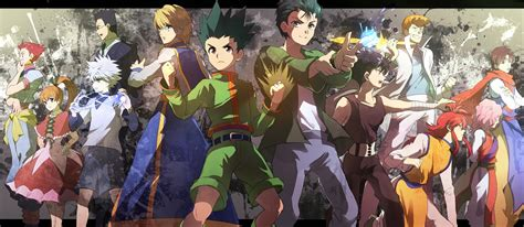 anime hunter x hunter hunter x hunter hd wallpaper wallpapersafari