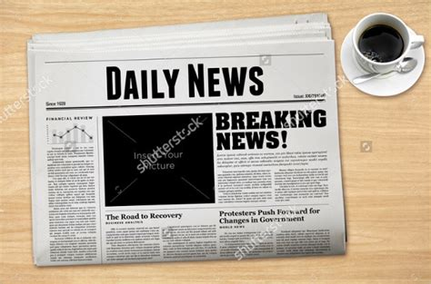 newspaper template 16 free word pdf documents