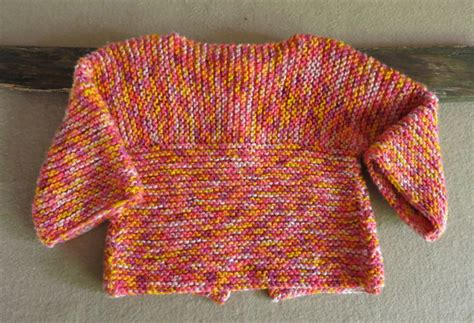 Handmade Clothes Australia - knitted baby jumper orange toddler sweater handmade baby